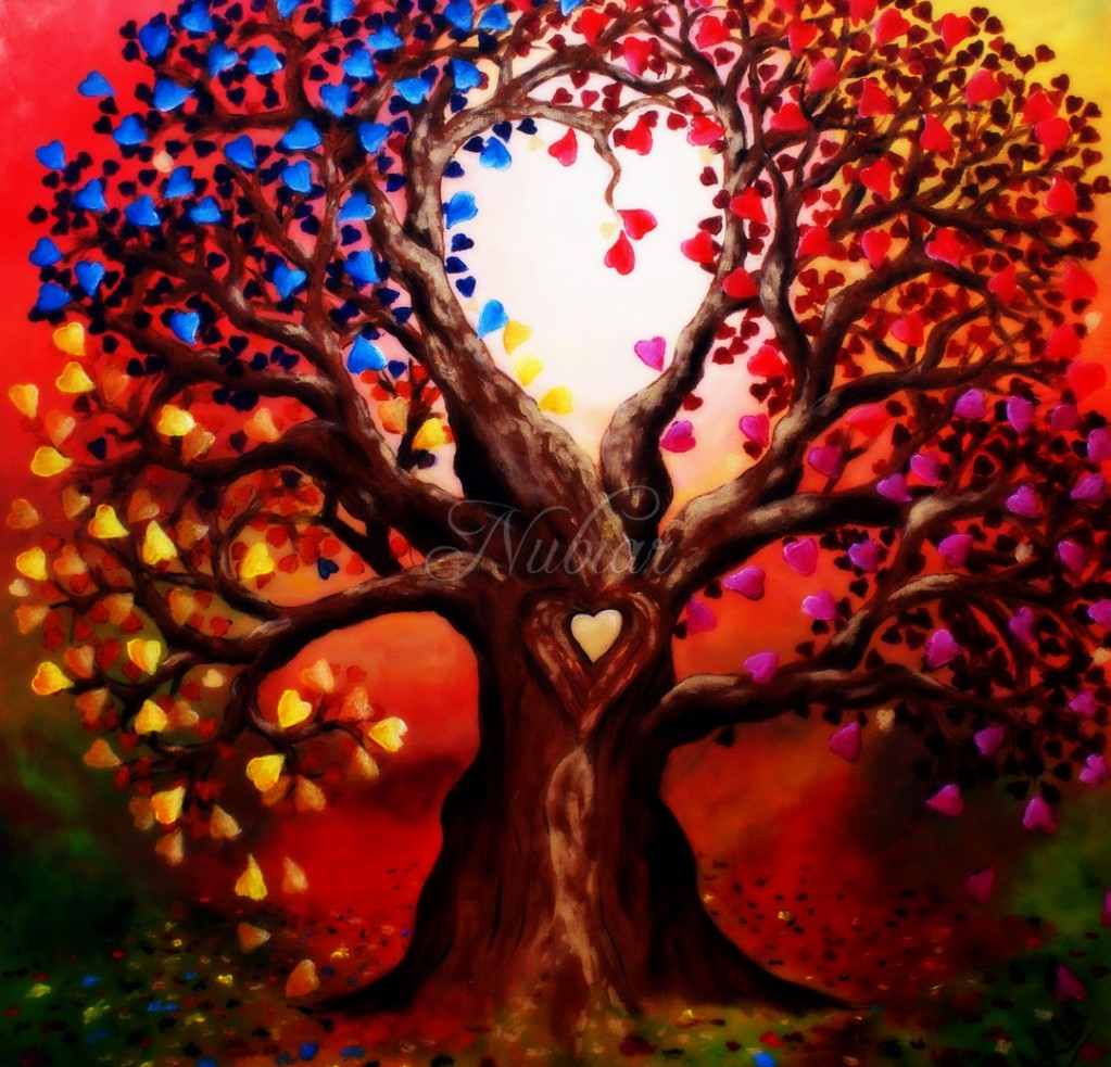 liefdesboom tree of love