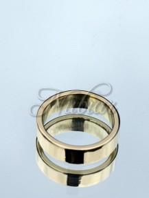 gouden ring zelf gemaakt in workshop