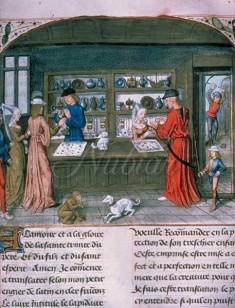 sieraden winkel middeleeuwen