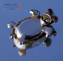Schildpad medaillon onderkant