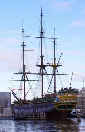 voc schip amsterdam