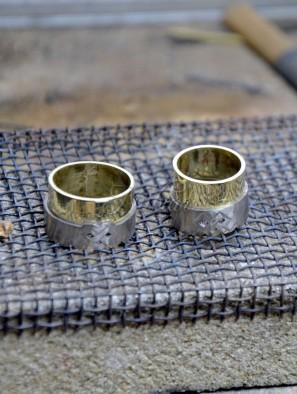 trouwringen dubbele ring