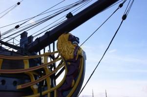 boegbeeld voc schip amsterdam
