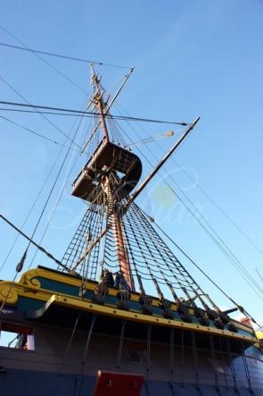mast voc schip amsterdam
