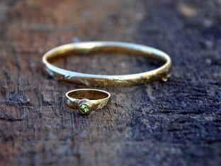 gouden ring bij  armband laten  maken