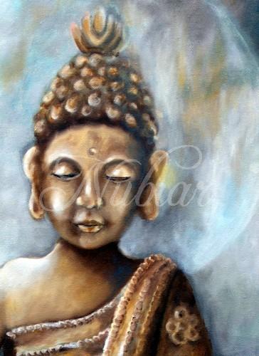 boeddha schilderij