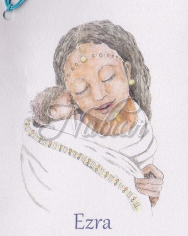 geboortekaartje laten tekenen
