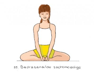 Yoga houding