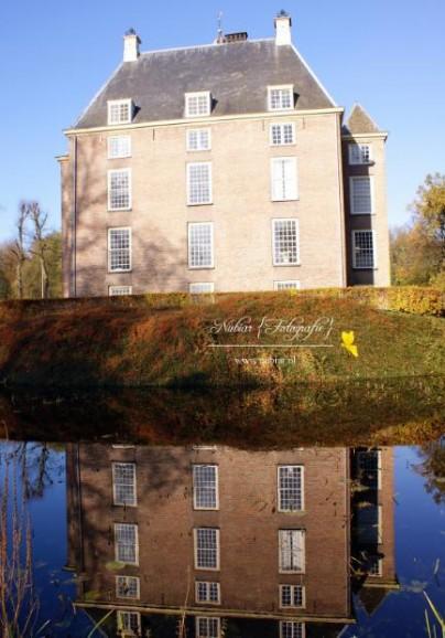 Kasteel Zoelen spiegelbeeld