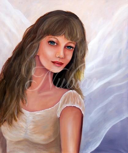 engel schilderij