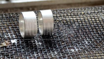 ringen uit workshop ruwe vorm