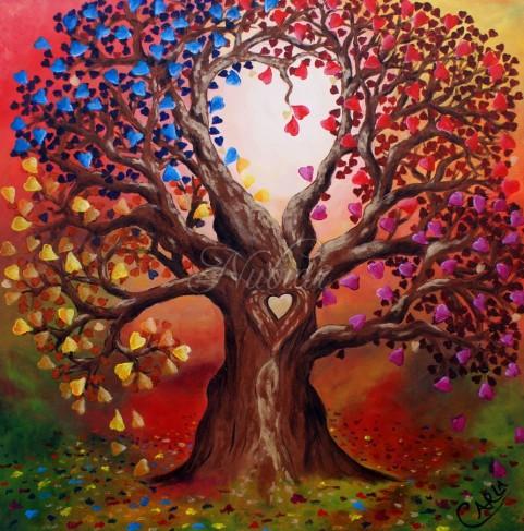 kleuren van de  liefde colors of love