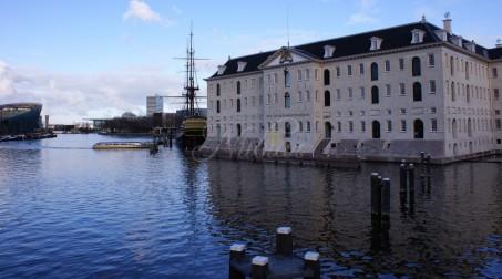 voc amsterdam met scheepvaartmuseum