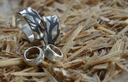 organisiche trouwringen