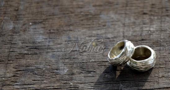 natuurlijke ringen bruidsjongens