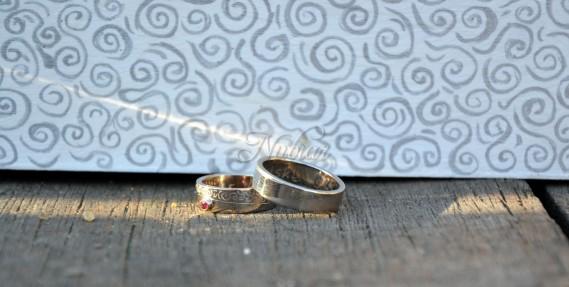 gepersonaliseerde trouwringen