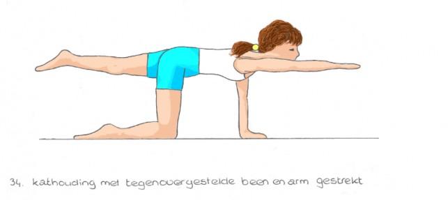 Yoga tekeningen