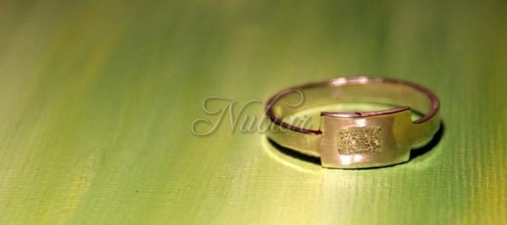ring gemaakt bij workshop edelsmeden tiel