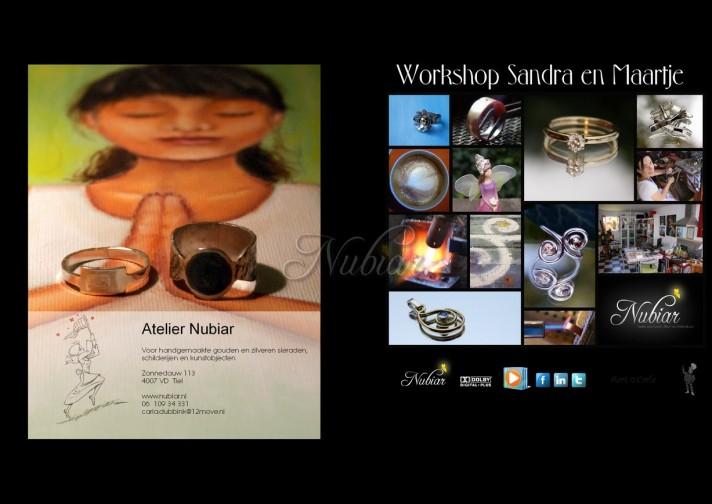 fotoreportage van workshop edelsmeden goudsmeden tiel