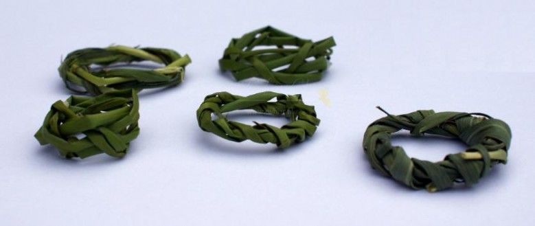 Ringen van gras