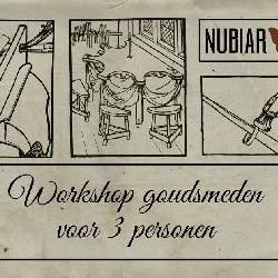 Workshop voor 3 personen